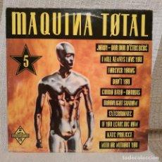 Discos de vinilo: MAQUINA TOTAL 5 - DOBLE LP DE VINILO DEL AÑO 1993 - EN BUEN ESTADO - VER FOTOS ADJUNTAS. Lote 224677583