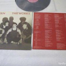 Discos de vinilo: QUEEN - THE WORKS - 1984 - ESPAÑA - ENCARTE - NM-/VG+. Lote 224677825