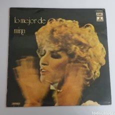 Discos de vinilo: LP MINA - LO MEJOR DE MINA (ESPAÑA - ODEON - 1975). Lote 224686050