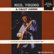 Discos de vinilo: NEIL YOUNG & CRAZY HORSE *LP 180G HQ VIRGIN VINYL LIVE AT SHORELINE AMPHITHEATRE 1994 * PRECINTADO. Lote 224687238