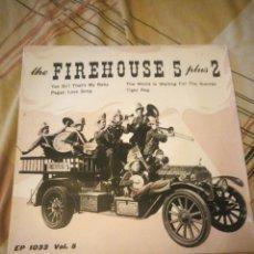 Discos de vinilo: FIREHOUSE FIVE PLUS TWO – THE FIREHOUSE FIVE STORY, VOL. 5,DISCO ROJO. Lote 224689748