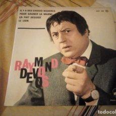 Discos de vinilo: RAYMOND DEVOS – IL Y A DES CHOSES BIZARRES,COMEDIA 1963. Lote 224690488