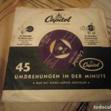 Discos de vinilo: EDDIE GRANT , FANCY FINGERS, RAMONA - CUMANA. Lote 224690712