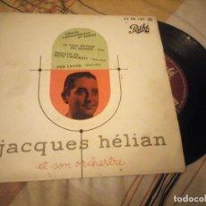 Discos de vinilo: JACQUES HÉLIAN ET SON ORCHESTRE – AMOUR, CASTAGNETTES ET TANGO,1956. Lote 224691981
