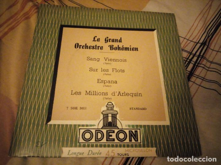 GRAND ORCHESTRE BOHÉMIEN – SANG VIENNOIS (Música - Discos - Singles Vinilo - Clásica, Ópera, Zarzuela y Marchas)