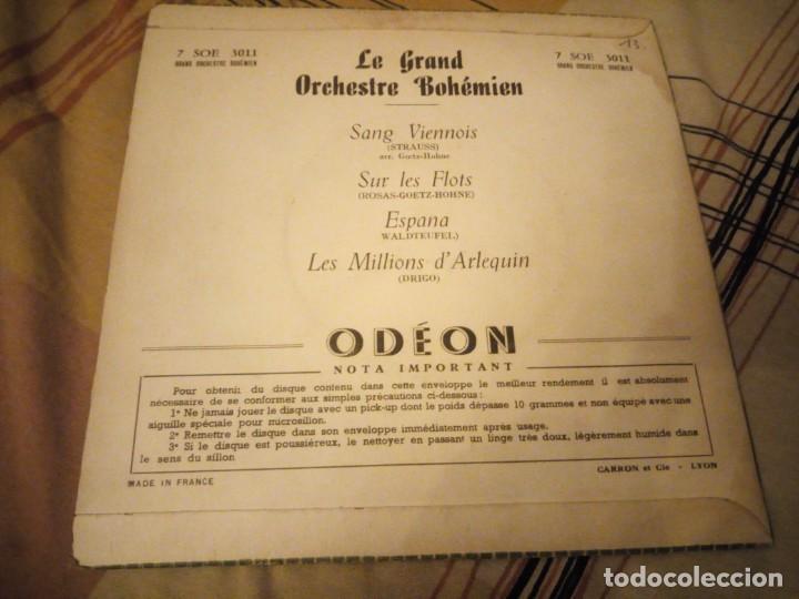 Discos de vinilo: Grand Orchestre Bohémien – Sang Viennois - Foto 3 - 224692116