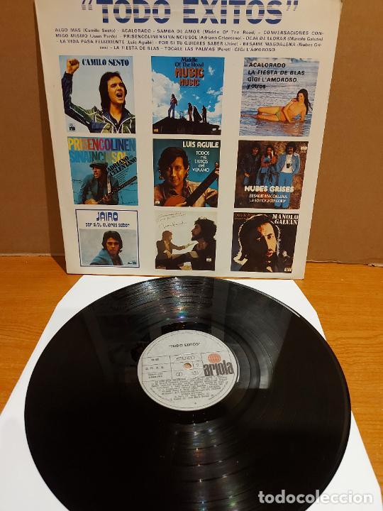 TODO ÉXITOS / VARIOS INTÉRPRETES / LP RECOPILATORIO-ARIOLA-1974 / MBC. ***/*** (Música - Discos - LP Vinilo - Solistas Españoles de los 70 a la actualidad)