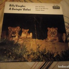 Discos de vinilo: BILLY VAUGHN AND HIS ORCHESTRA – DOWN YONDER / I'M WAITIN ,1962. Lote 224692786