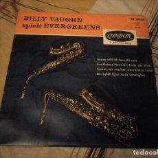 Discos de vinilo: BILLY VAUGHN – SPIELT EVERGREENS. Lote 224693072