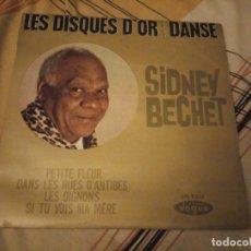Discos de vinilo: SIDNEY BECHET – LES DISQUES D'OR DE LA DANSE. Lote 224693385