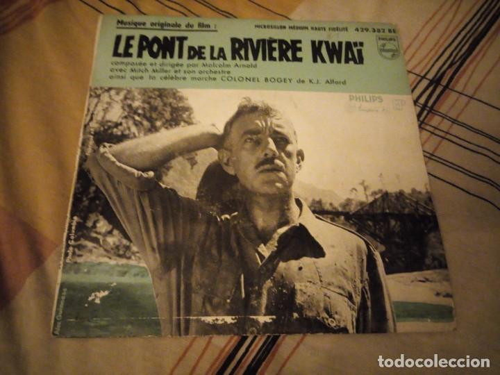 MUSIQUE ORIGINAL DU FILM LE PORT DE LA RIVIERE KWAI (Música - Discos - Singles Vinilo - Bandas Sonoras y Actores)