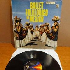 Discos de vinilo: BALLET FOLKLORICO DE MEXICO / LP - MUSAT-MEXICO / MBC. ***/***. Lote 224696828