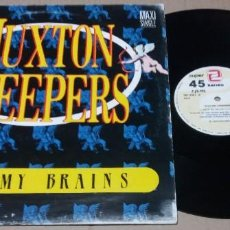 Discos de vinilo: HUXTON CREEPERS / RACK MY BRAINS / MAXI-SINGLE 12 INCH. Lote 224698190