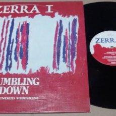 Discos de vinilo: ZERRA I / TUMBLING DOWN / MAXI-SINGLE 12 INCH. Lote 224699995