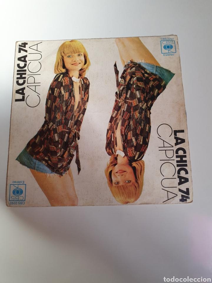 CAPICUA - LA CHICA 74 / MAS VALE TARDAR UN POCO, CBS 1974. (Música - Discos - Singles Vinilo - Grupos Españoles 50 y 60)