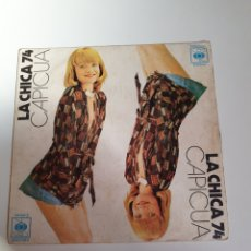 Discos de vinilo: CAPICUA - LA CHICA 74 / MAS VALE TARDAR UN POCO, CBS 1974.. Lote 224701487