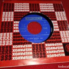 Disques de vinyle: BANDA LOS PICADORES EL GATO MONTES/ISLAS CANARIAS 7 SINGLE 1966 VERGARA ESPAÑA TOROS TORERO. Lote 224707176