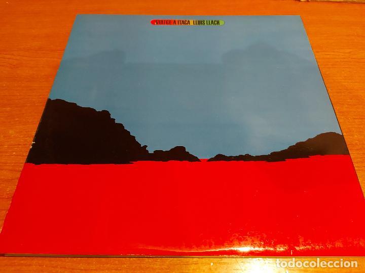 Discos de vinilo: LLUÍS LLACH / VIATGE A ITACA / LP-GATEFOLD - MOVIE PLAY-1975 / MBC. ***/*** - Foto 3 - 224716096