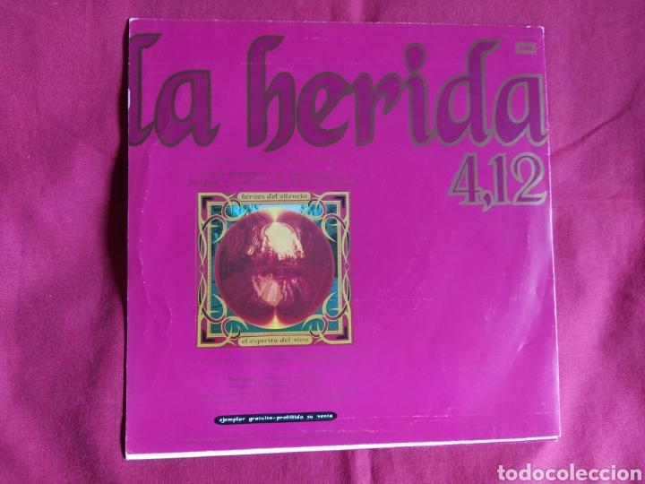 Discos de vinilo: Héroes del silencio / La Herida / Single 1 edición / Bunbury - Foto 2 - 224726846