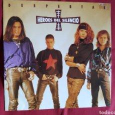 Discos de vinilo: HÉROES DEL SILENCIO / DESPERTAR / BUNBURY. Lote 224728847