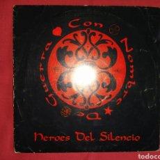 Discos de vinilo: HÉROES DEL SILENCIO / CON NOMBRE DE GUERRA / BUNBURY. Lote 224729732
