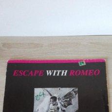 """Discos de vinilo: SOMEBODY-FLOWMOTION MIX-ESCAPE WITH ROMEO-VINILO 12"""" 45 RPM-SOUND FACTORY-1990-TEMAZO RUTA. Lote 288168878"""