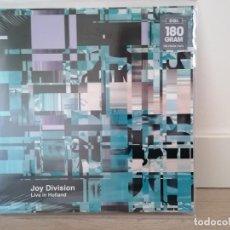 Disques de vinyle: JOY DIVISION - LIVE IN HOLLAND LP IAN CURTIS PUNK NEW WAVE BUZZCOCKS SEX PISTOLS NUEVO!!!!!!!!!. Lote 224741536