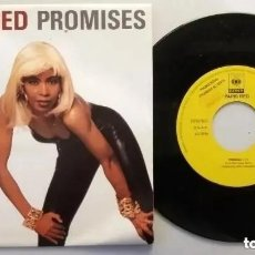 Discos de vinilo: PARIS RED / PROMISES / SINGLE 7 INCH (PROMO UNA SOLA CARA). Lote 224750667