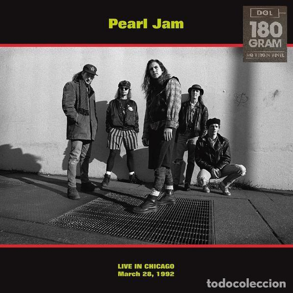 PEARL JAM LP 180G HQ VIRGIN VINYL * LIVE IN CHICAGO 28/03/1992 * PRECINTADO!! (Música - Discos - LP Vinilo - Punk - Hard Core)