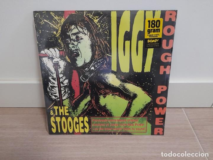 IGGY & THE STOOGES ‎– ROUGH POWER NUEVO 180 GR. (Música - Discos - LP Vinilo - Punk - Hard Core)