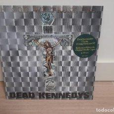 Disques de vinyle: DEAD KENNEDYS – IN GOD WE TRUST, INC. SEX PISTOLS MISFITS CRAMPS NUEVO PRECINTADO. Lote 224752853