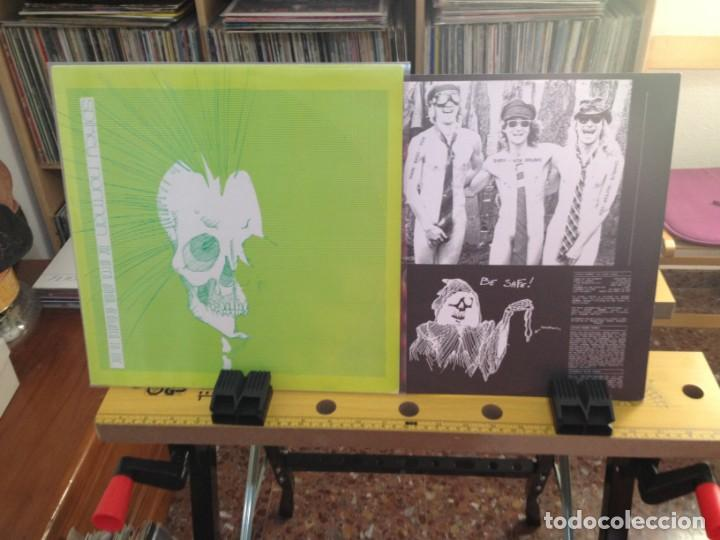 Discos de vinilo: SPIKEY NORMAN - THE GREEN ALBUM DEDICATED TO LIFE (GRUNGE) / LP MADE IN GERMANY 1992. NUEVO SIN USAR - Foto 2 - 224754927