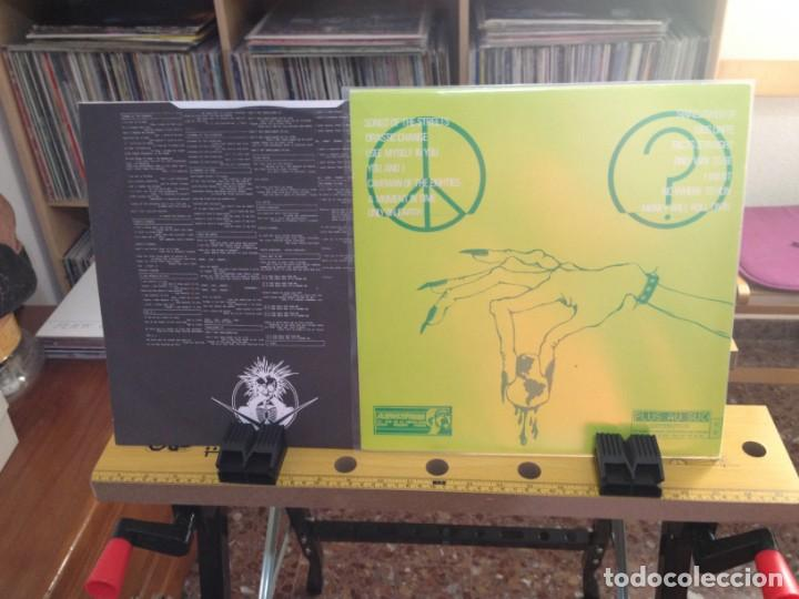 Discos de vinilo: SPIKEY NORMAN - THE GREEN ALBUM DEDICATED TO LIFE (GRUNGE) / LP MADE IN GERMANY 1992. NUEVO SIN USAR - Foto 3 - 224754927