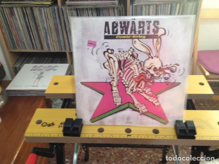 ABWÄRTS - COMIC-KRIEG (PUNK, BLUES ROCK) / LP MADE IN GERMANY 1991. NM-M / VINILO NUEVO SIN USAR (Música - Discos - LP Vinilo - Punk - Hard Core)