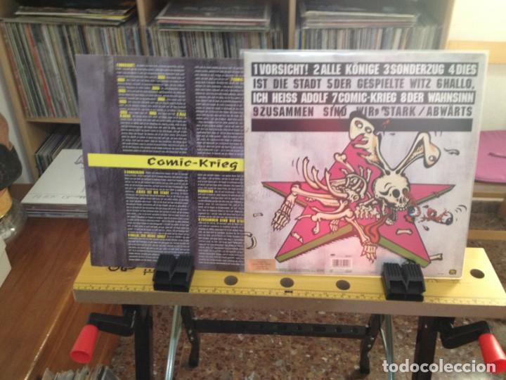 Discos de vinilo: ABWÄRTS - COMIC-KRIEG (PUNK, BLUES ROCK) / LP MADE IN GERMANY 1991. NM-M / VINILO NUEVO SIN USAR - Foto 4 - 224757320
