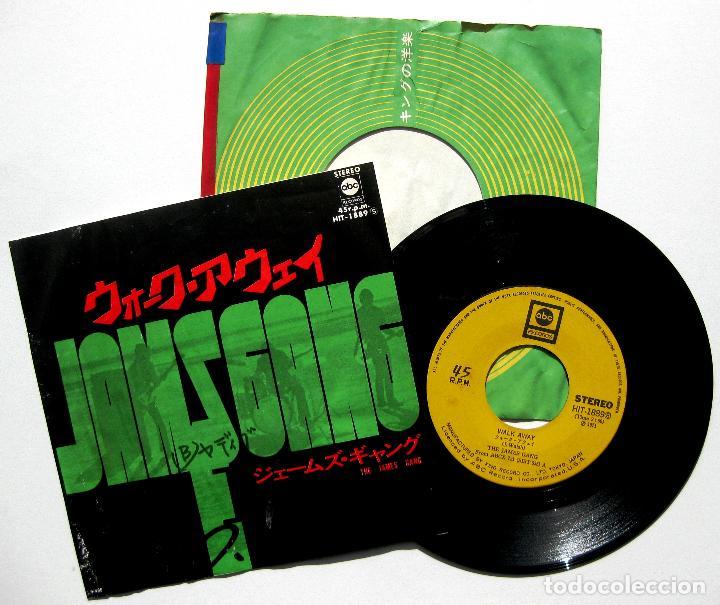 JAMES GANG - WALK AWAY - SINGLE ABC RECORDS 1971 JAPAN (EDICIÓN JAPONESA) BPY (Música - Discos - Singles Vinilo - Rap / Hip Hop)
