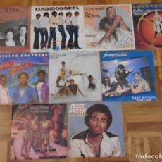 Discos de vinilo: BUEN LOTE 18 DISCOS SINGLES VINILOS FUNK DISCO R&B SOUL BLACK MUSIC LISTADO COMPLETO BUEN ESTADO VER. Lote 224768775