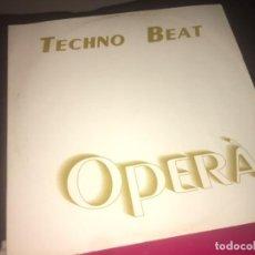 Discos de vinilo: TECHNO BEAT: OPERA. Lote 224769147