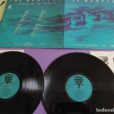 Discos de vinilo: THE BEATLES CANCIONES DE AMOR 2LP 1982 EMI ODEON 10C170-006560/61 EDICION ESPAÑOLA SPAIN GATEFOLD. Lote 224770221