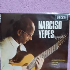 Discos de vinilo: DISCO EP DE NARCISO YEPES. Lote 224771726