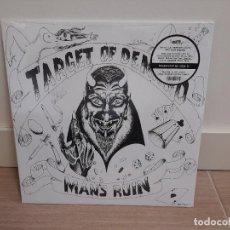 Disques de vinyle: TARGET OF DEMAND – MANS RUIN 500 COPIAS SEX PISTOLS RADIATION RECORDS DEAD KENNEDYS NUEVO!!!!!. Lote 224776825