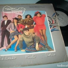Discos de vinilo: BETTY TROUPE - EL VINILO... MAXISINGLE CON LA VERSION EXTENDIDA + 2 TEMAS MAS TECNO-POP - 1983. Lote 224777807