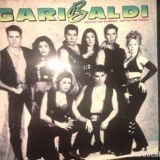 Discos de vinilo: GARIBALDI: GRITOS DE GUERRA, GRITOS DE AMOR. Lote 224781600