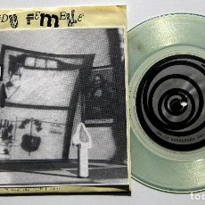 Disques de vinyle: PENDU FEMELLE - ENCOUNTER WITH DUCHAMP / THE MAIN EVENT - SINGLE READYMADE RECORDS 1988 USA BPY. Lote 224782156