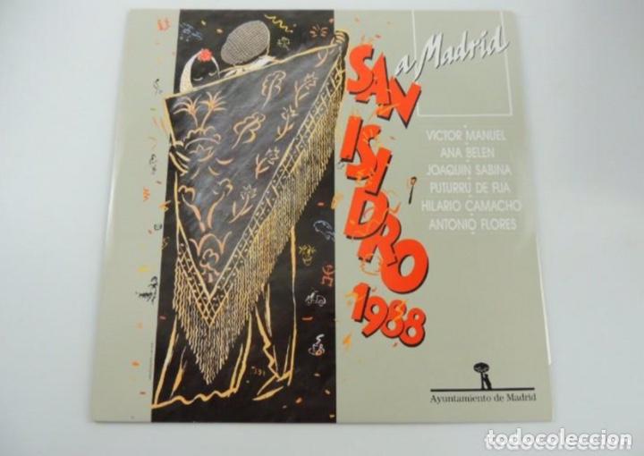 LP VINILO SAN ISIDRO 1988- ANTONIO FLORES-JOAQUÍN SABINA-VÍCTOR MANUEL- ANA BELÉN... (Música - Discos - LP Vinilo - Otros estilos)