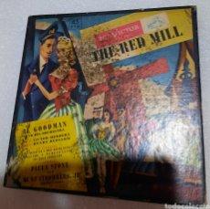 Discos de vinilo: AL GOODMAN AND HIS ORCHESTRA - THE RED MILL. 4 SINGLES. VINILOS AZUL. Lote 224790958