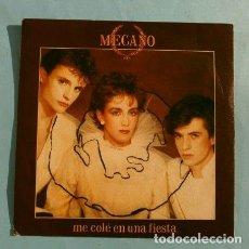 Discos de vinilo: MECANO (SINGLE 1982) ME COLÉ EN UNA FIESTA - BODA EN LONDRES. Lote 224795911