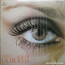 Disques de vinyle: LP LOS DE LA TROCHA - PIROPEANDO POR SEVILLANAS - COLUMBIA TXS 3055 - GATEFOLD - 1977 (VG++/VG++)Ç. Lote 224806120