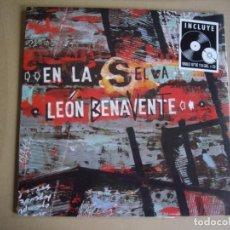 Discos de vinilo: LEON BENAVENTE EP 10'' EN LA SELVA + CD EDICION LIMITADA NUEVO Y PRECINTADO. Lote 128553887