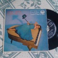 Disques de vinyle: EP ( VINILO) DE MANOLO FRANKIE CARLE CON ACOMPAÑAMIENTO DE RITMO Y ORQUESTA AÑOS 50. Lote 224818570